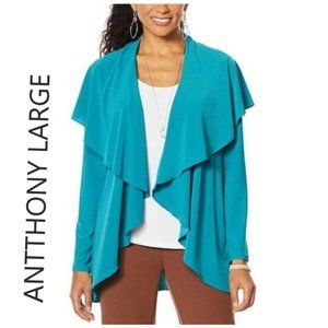 """NWT HSN Antthony """"Twilight Collection"""" Flowy Crep"""